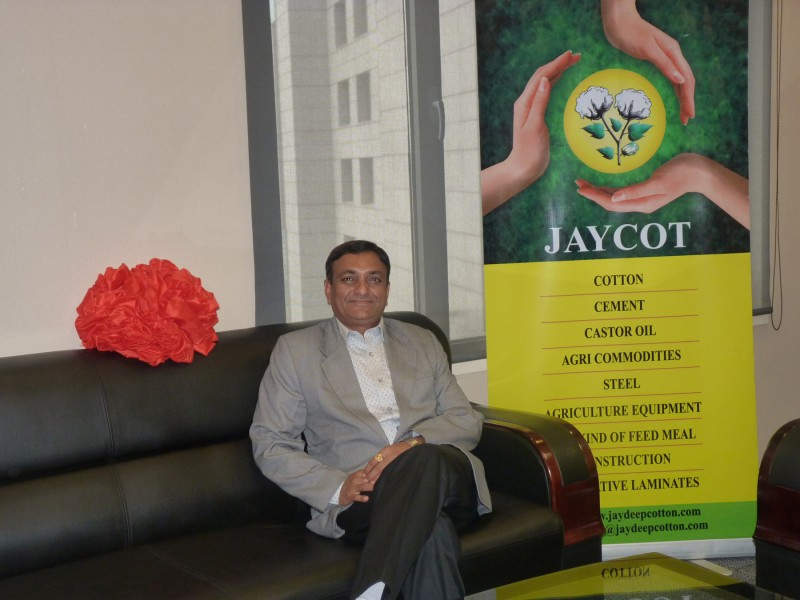 Chairman at our china office