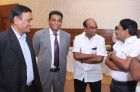 Our Chairman & MD discussing with ginners under Ginners Meet - 2012