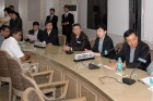 Chinese Delegates under MOU Signing Ceremony between India & China
