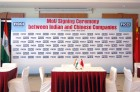 MOU Signing Ceremony Between India & China