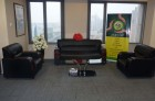 Our Qingdao-China Office Guest Sitting Area under Our China Office