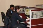 Working Staff in Office